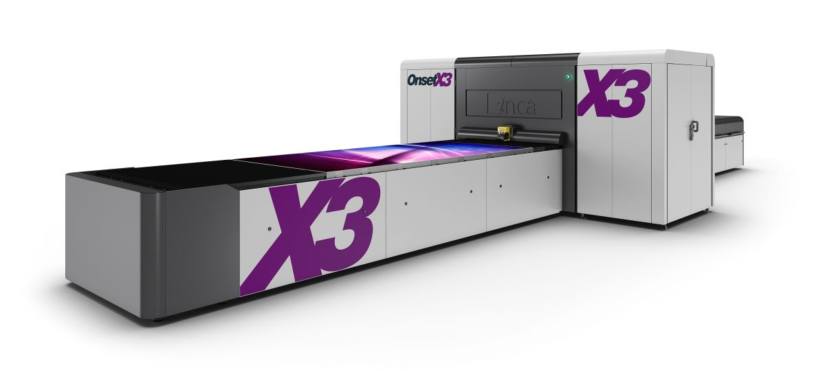 Brant InStore's New X3 Digital Printer 1st In North America!