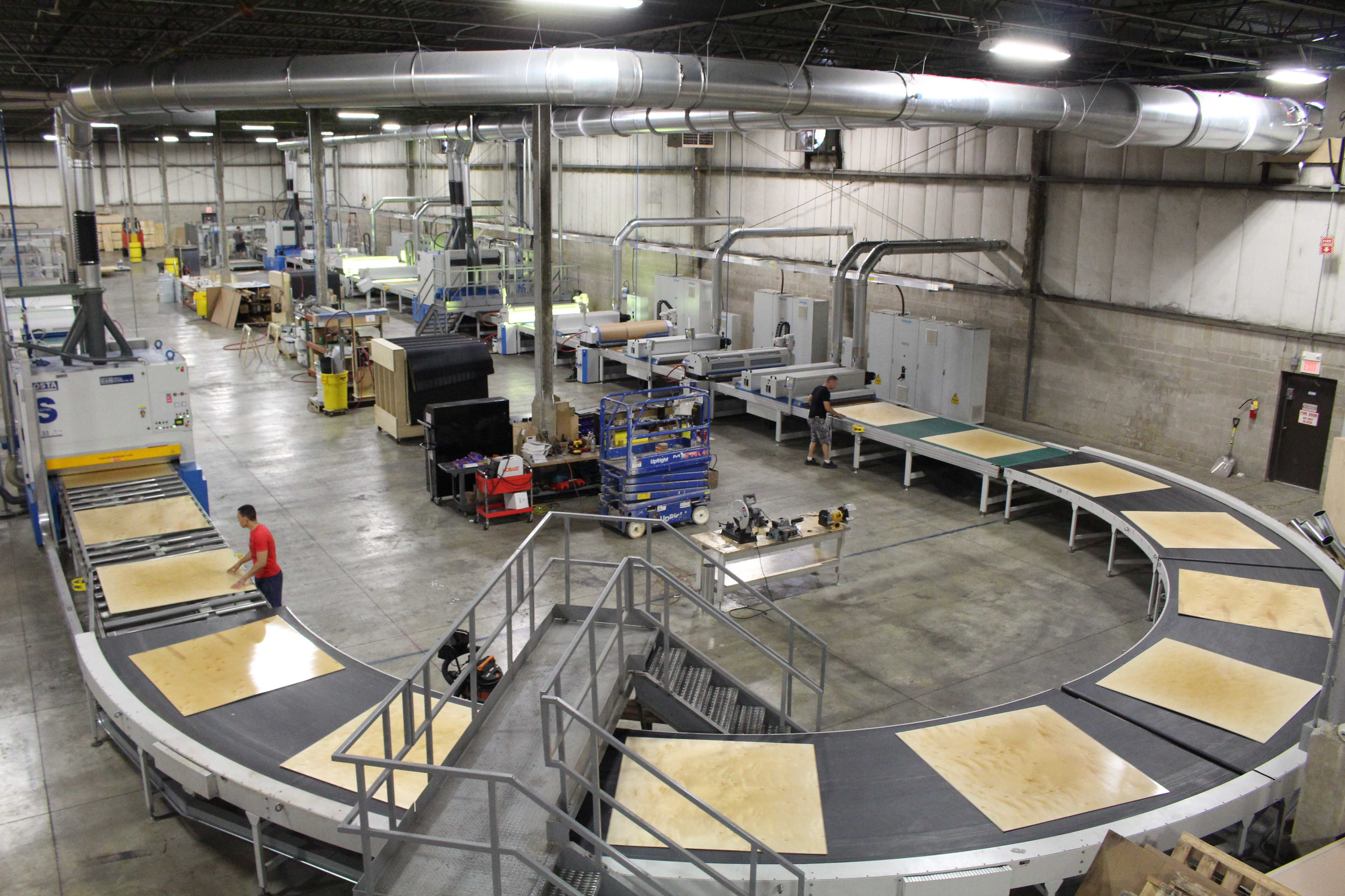 inkjet delivers high def digital printing option for plywood company