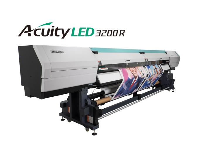 Acuity LED 3200R Super Wide Format Printer | Fujifilm Inkjet