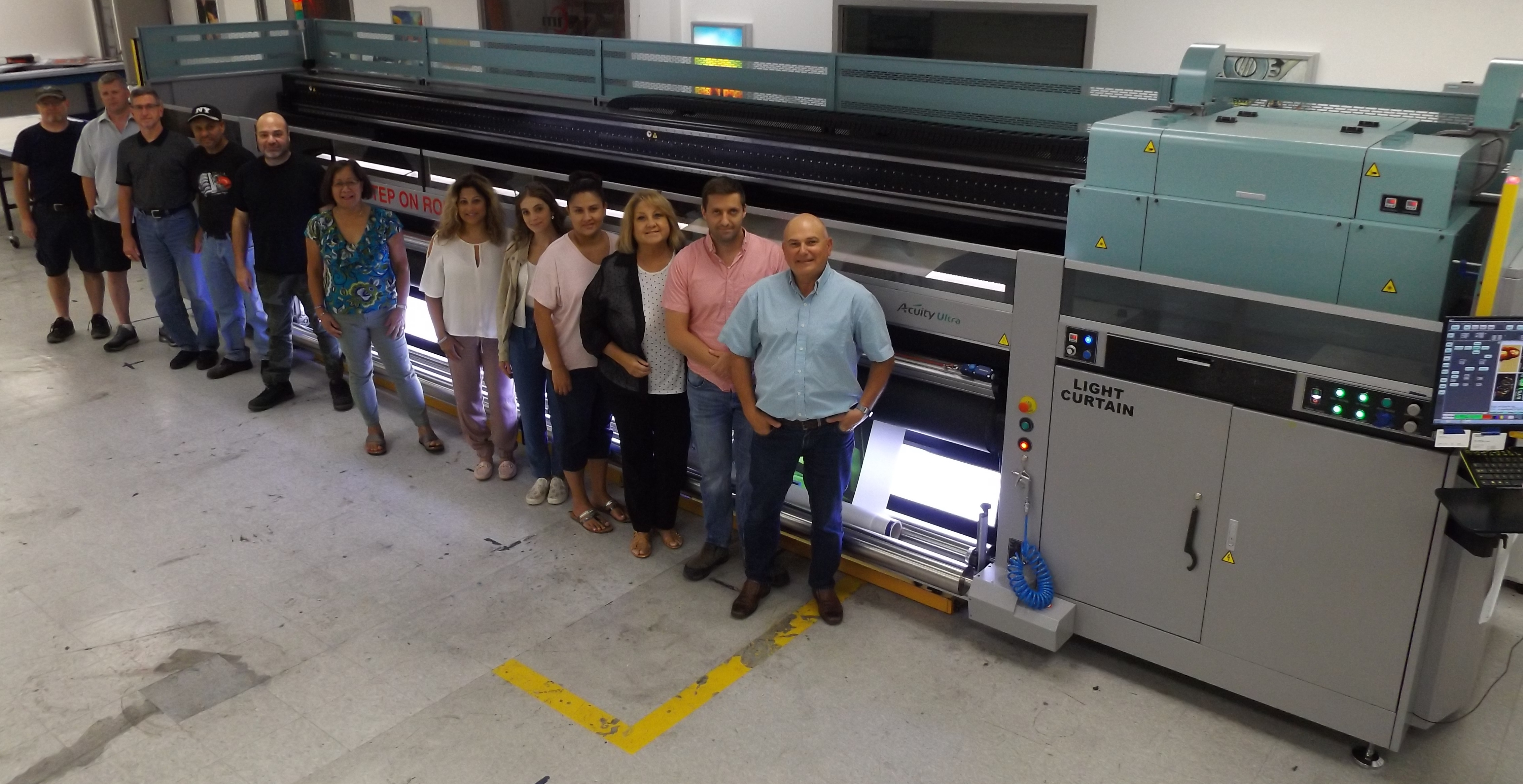 Fujifilm's Superwide Acuity Ultra UV Press Expands Opportunities for Canada-based Impulse