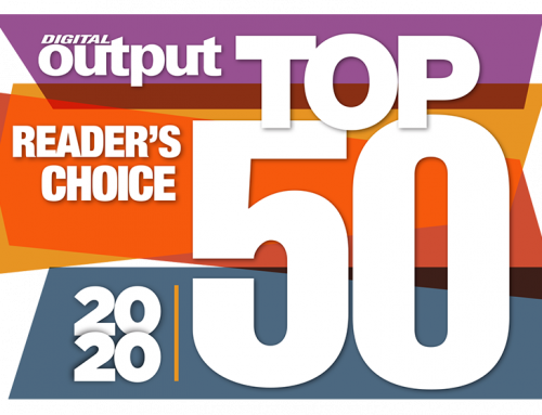 Digital Output Readers Choose Fujifilm as a Top 50 Company of 2020