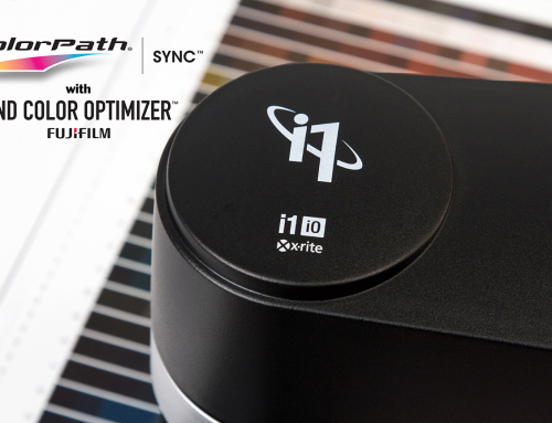 FUJIFILM ColorPath® SYNC™ Now Supports X-Rite i1Pro 3 Spectrophotometers